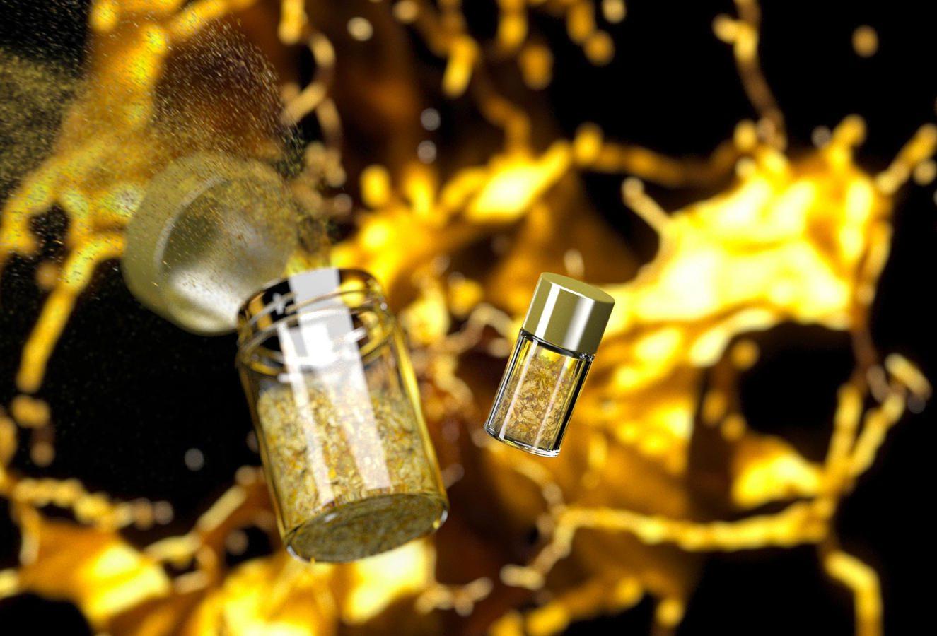 benefici dell'oro cosmetico